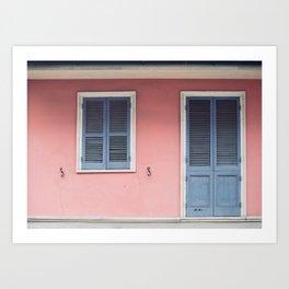 French Quarter Color, No. 3 Art Print