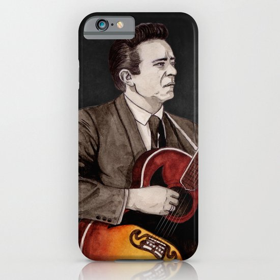 Johnny Cash iPhone & iPod Case