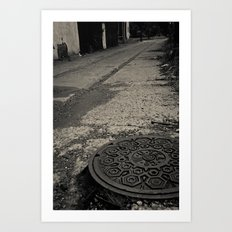 long walk home Art Print
