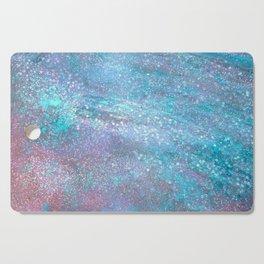 Iridescent Glitter Cutting Board