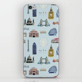 All of London's Landmarks  iPhone Skin