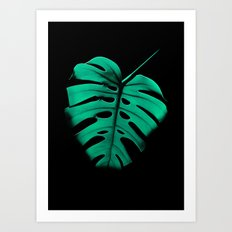 Monstera Portrait Art Print