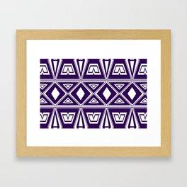 laceup  Framed Art Print