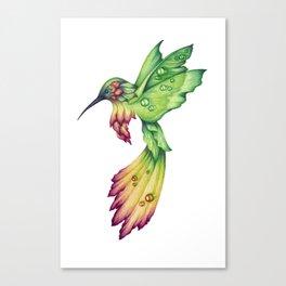 Flowerbird Canvas Print