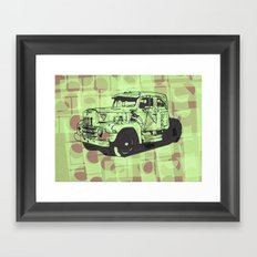 Truck Framed Art Print