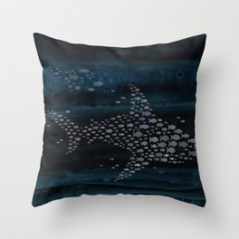 Shark! Throw Pillow