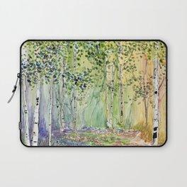 4 season watercolor collection - spring Laptop Sleeve