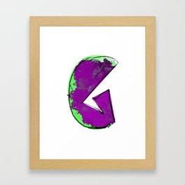 G letter Framed Art Print