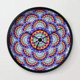Mandala Psychedelic Visions G324 Wall Clock