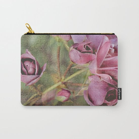 Vintage roses(8) Carry-All Pouch