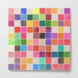 colorquilt 4 Metal Print