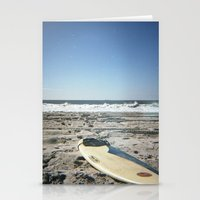 surfboard Stationery Cards featuring Surfboard by NoGoPhoto