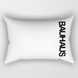 BAUHAUS AND THE WHITE Rectangular Pillow