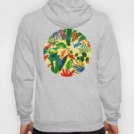 Nine Chameleons Hiding in the Tropics Hoody