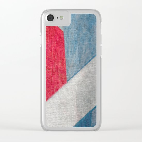 The River and the Bridge Clear iPhone Case