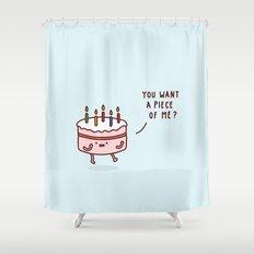 Cake Shower Curtain