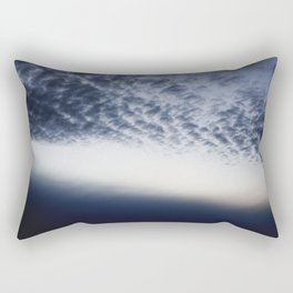 Drama above the Fjord Rectangular Pillow