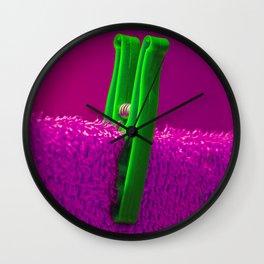 Psychedillypinkpeg Wall Clock