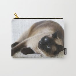 Sulley, A Siamese Cat Carry-All Pouch