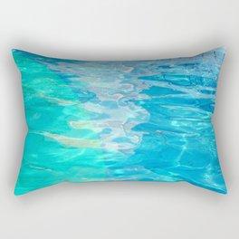 semi circle pool 9689 Rectangular Pillow