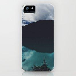 Hector Lake, Banff, Canada iPhone Case
