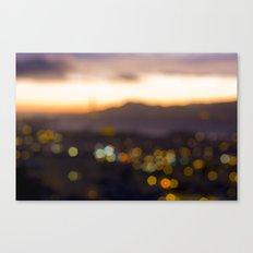 Sparkles at Sunset Canvas Print