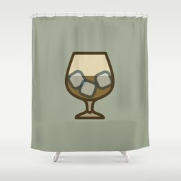 Liquor - Icon Prints: Drinks Series Shower Curtain