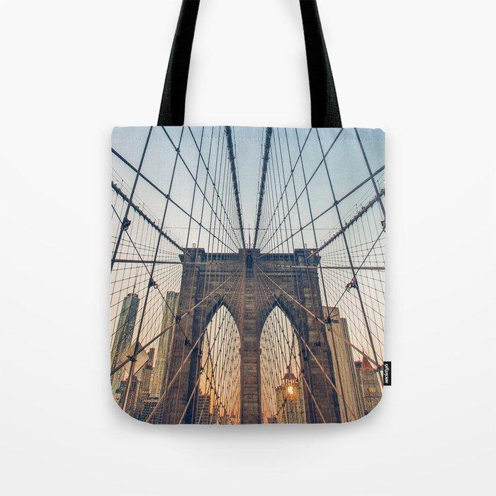 Brooklyn Bridge New York City Tote Bag