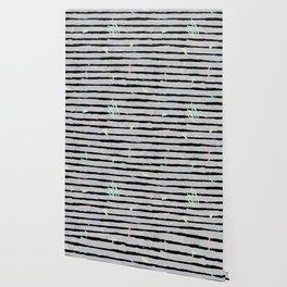 Whimsical Stripes Wallpaper