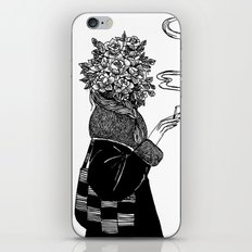 Rose and Cigarette iPhone & iPod Skin