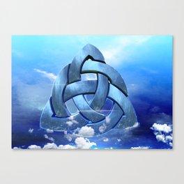 Sacred Geometry - Trinity 09 Canvas Print