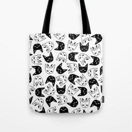 Demonic Cats Tote Bag