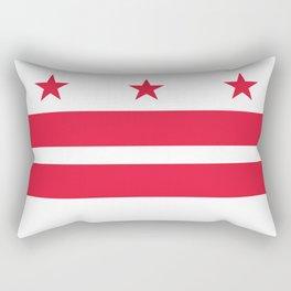 Washington D.C official Flag Rectangular Pillow