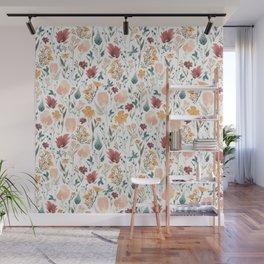 Deep Florals Wall Mural