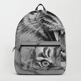 Tiger Portrait Animal Design Backpack