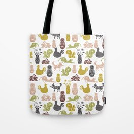Country Silhouettes Tote Bag