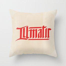 illmatic Throw Pillow