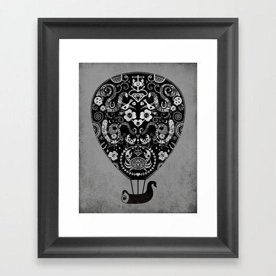 Lucky ride Framed Art Print