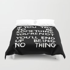 BEING NOTHING 2 Duvet Cover