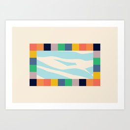 The Pool — Matthew Korbel-Bowers Art Print