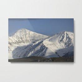 Hight snowy mountains. 3489 meters Metal Print