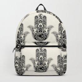 Hamsa Hand Avocado Backpack