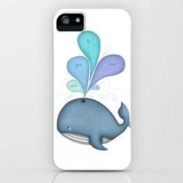 Whale you be mine? iPhone Case