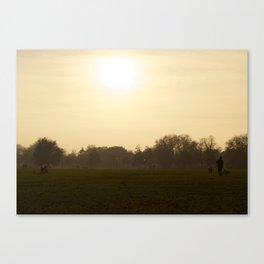 clapham common Canvas Print