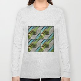 Summer Ocean Glass Long Sleeve T-shirt