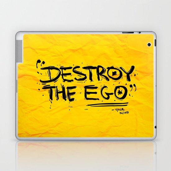 Destroy the Ego Laptop & iPad Skin