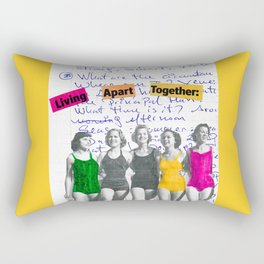 Living Apart Together Rectangular Pillow