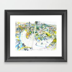 Mesogi Framed Art Print