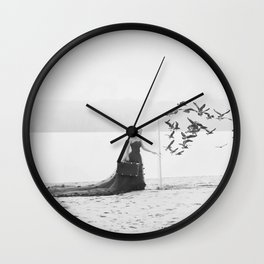 You never know what's on the other side Wall Clock
