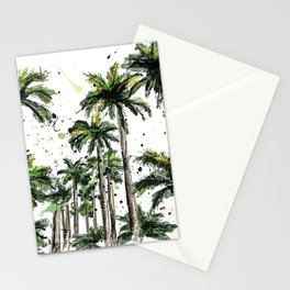 Palm-trees Stationery Cards